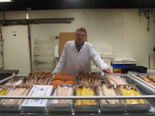 What the Dickens! uses only the best suppliers, like this smoked fish